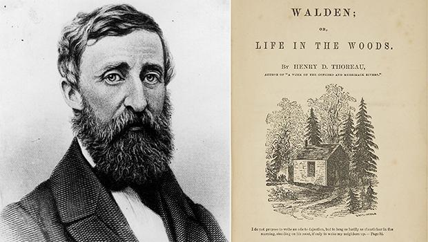 04/08/1854: ???Walden??? c???a Henry David Thoreau ???????c xu???t b???n